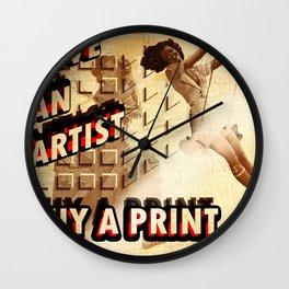 Shameless Self Promotion #1 Wall Clock