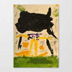 Black Rain Canvas Print