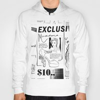 scandal Hoodies featuring Material Girl Scandal by CLSNYC