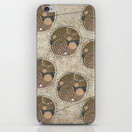 Honeybee Pattern iPhone Skin