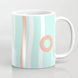 Turquoise & Coral (7) Coffee Mug