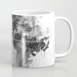 Death Sta Watercolor B&W Coffee Mug