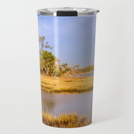 Coastal Outer Banks Landscape on a Summer Day Travel Mug