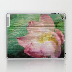 Lotus Woodblock Laptop & iPad Skin