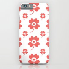lucky flower coral Slim Case iPhone 6s