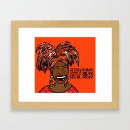 La Reina Celia Cruz Framed Art Print