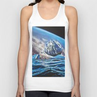 planets Tank Tops featuring Planets by John Turck