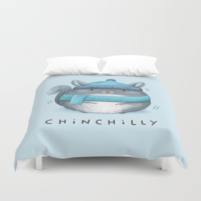 Chinchilly Duvet Cover