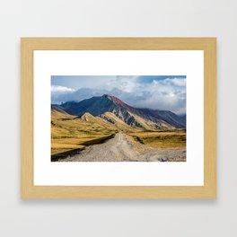 The Pamir Highway - A Road Trip through Asia Framed Art Print