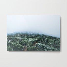 Mountain Fog Metal Print