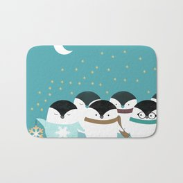 Little Penguins Bath Mat