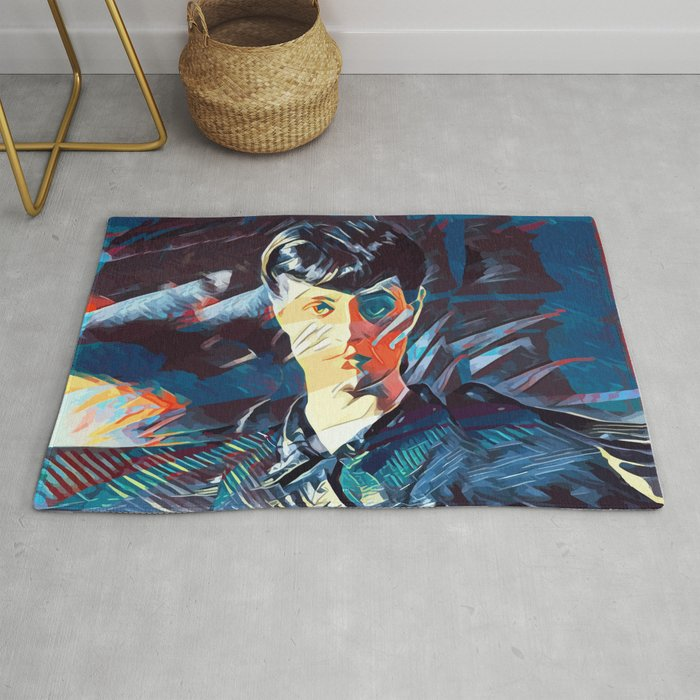 Did You Test Yourself Rug by bespired