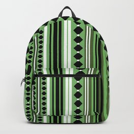 Verticals green Backpack