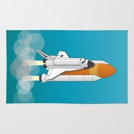 shuttle launch Rug