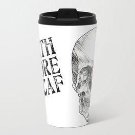 Rose Skull Travel Mug