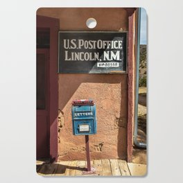 Post Office Lincoln NM Cutting Board
