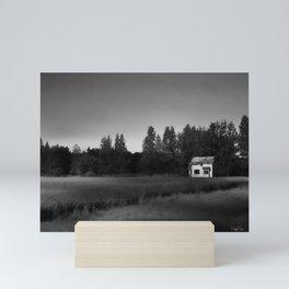 Just Black And White Mini Art Print