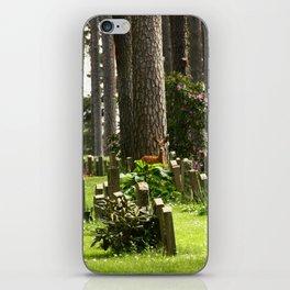 Skogskyrkogården iPhone Skin