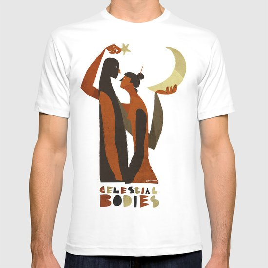 celestial bodies T-shirt
