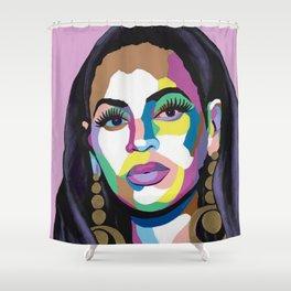 Hail the Queen Shower Curtain
