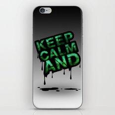 Keep Calm And.... iPhone & iPod Skin