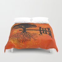 family Duvet Covers featuring Family by Last Call