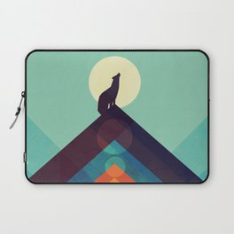 Howling Wild Wolf Laptop Sleeve