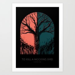 To Kill a Mocking Bird Art Print