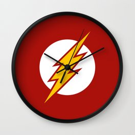 The Fastest Man Alive Wall Clock