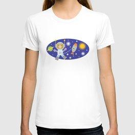 Space Chimp Astronaut Monkey T-shirt