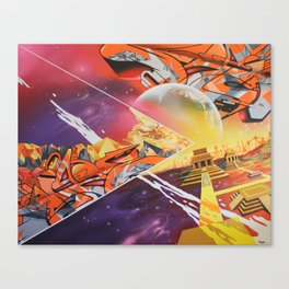 New Horizons Canvas Print