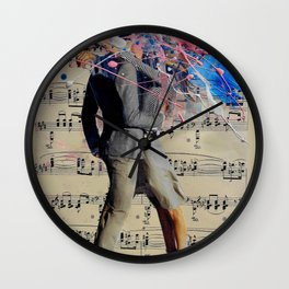 THE ART OF KISSING Wall Clock