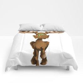 Moose Named Moe Comforters