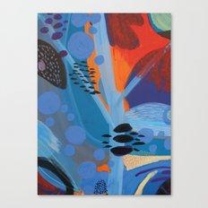Drops II Canvas Print