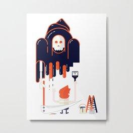 illustraitor Metal Print