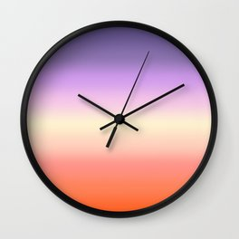 Fig Gradient Wall Clock