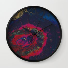 Darkened Colours Wall Clock