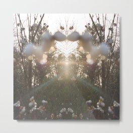 Spiegel im Spiegel VII Metal Print