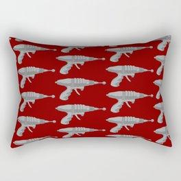 Raygun Set To Stun Rectangular Pillow