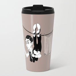 Buster Keaton Hello Neighbor! Travel Mug