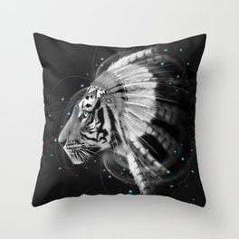 Don't Define the World (Chief of Dreams: Tiger ) Tribe Series Throw Pillow