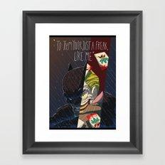 BATMAN&JOKER Framed Art Print