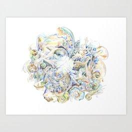 Kislev Orbital Art Print