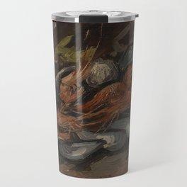 Prawns and Mussels Travel Mug