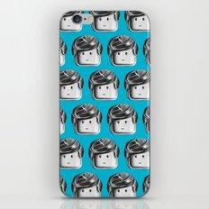 Minifigure Pattern – Blue iPhone & iPod Skin
