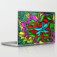 supreme Laptop & iPad Skins featuring Lava Supreme by clawsalina