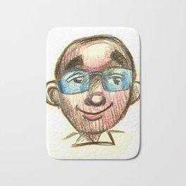Cartoon self Bath Mat