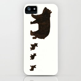 Hello bears iPhone Case