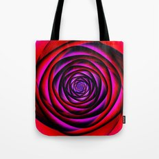 Fractal Rose Tote Bag