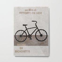 Ladri di Biciclette Metal Print